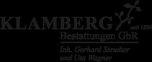 Logo von Bestattung Klamberg