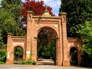 Eingangstor zum Nordfriedhof