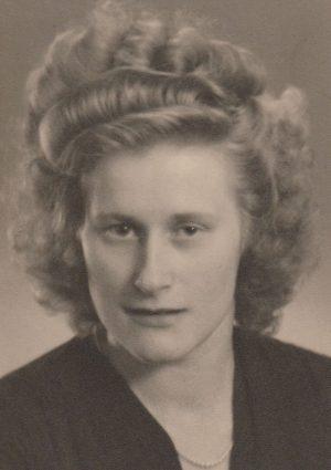 Portrait von Herta Berg